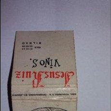 Cajas de Cerillas: CAJA DE CERILLAS PUBLICIDAD AÑOS 70. Lote 99294147