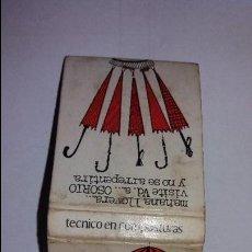 Cajas de Cerillas: CAJA DE CERILLAS PUBLICIDAD AÑOS 70. Lote 99294371