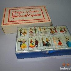 Cajas de Cerillas: COLECCIÓN COMPLETA DE 30 CAJAS DE CERILLAS *TRAJES Y BAILES TÍPICOS DE ESPAÑA* DE FOSFORERA ESPAÑOLA. Lote 99484739