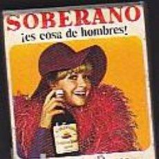 Cajas de Cerillas: CAJA DE CERILLAS CARTERITA PUBLICIDAD BAR EL CASERIO COÑAC SOBERANO . Lote 99532699