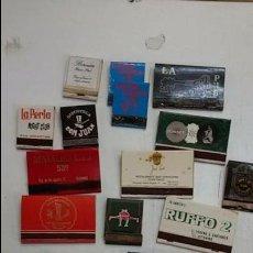 Cajas de Cerillas: LOTE DE 17 CAJAS DE CERILLAS PUBS, DISCOTECAS....AÑOS 70. Lote 100880835