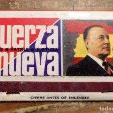 Cajas de Cerillas: CERILLAS ANTIGUAS FUERZA NUEVA. Lote 101937847