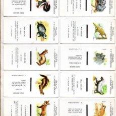 Cajas de Cerillas: SERIE COMPLETA DE CAJAS DE CERILLAS ESPECIALES DE FESA-FOSFORERA ESPAÑOLA. Lote 102386135