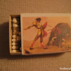 Cajas de Cerillas: TOROS, TAUROMAQUIA, SUERTES TAURINAS DE FOSFORERA ESPAÑOLA, TRIUNFO, CAJA NUEVA CON CERILLAS. Lote 102478247