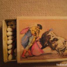 Cajas de Cerillas: TOROS, TAUROMAQUIA, SUERTES TAURINAS DE FOSFORERA ESPAÑOLA, VERÓNICA, CAJA NUEVA CON CERILLAS. Lote 102478383
