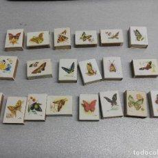 Cajas de Cerillas: MARIPOSAS / LOTE CON 27 CAJAS DE CERILLAS / FOSFORERA ESPAÑOLA. Lote 102772443