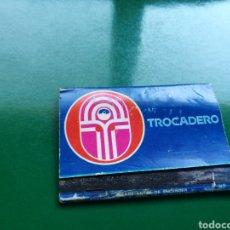 Cajas de Cerillas: CAJA DE CERILLAS DEL CLUB TROCADERO CON PUBLICIDAD DE GREENPEACE DE DIEGO ZAMORA DE CARTAGENA. Lote 103834575