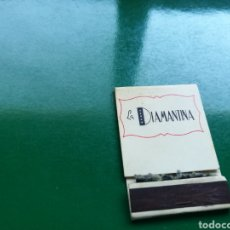 Cajas de Cerillas: CAJA DE CERILLAS DE JOYERÍA LA DIAMANTINA DE PRAT DE LLOBREGAT DE BARCELONA. Lote 103835896
