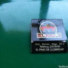 Cajas de Cerillas: CAJAS DE CERILLAS DEL CLUB GROOVY DEL PRAT DE LLOBREGAT EN BARCELONA. Lote 103838679