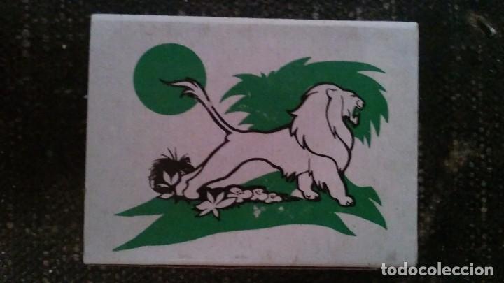 COMO NUEVA Y COMPLETA . CAJA DE CERILLAS ANIMALES DE FOSFORERA ESPAÑOLA. LEÓN . AÑOS 70 (Coleccionismo - Objetos para Fumar - Cajas de Cerillas)