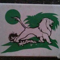 Cajas de Cerillas: COMO NUEVA Y COMPLETA . CAJA DE CERILLAS ANIMALES DE FOSFORERA ESPAÑOLA. LEÓN . AÑOS 70. Lote 104102243
