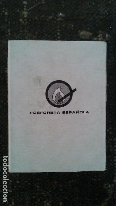 Cajas de Cerillas: Como nueva y completa . Caja de cerillas animales de fosforera Española. León . Años 70 - Foto 3 - 104102243