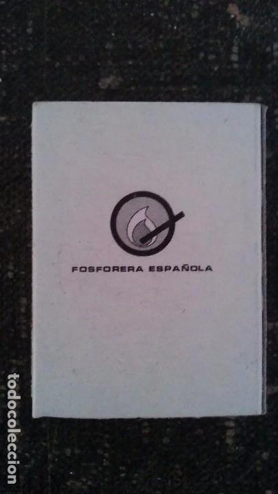 Cajas de Cerillas: Como nueva y completa . Caja de cerillas animales de fosforera Española. Castor . Años 70 - Foto 3 - 104102311