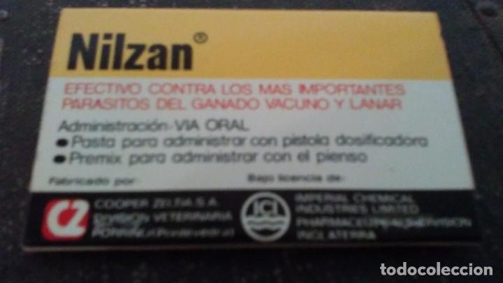 Cajas de Cerillas: Como nueva 40 Fósforos . Caja de cerillas medicamento NILZAN - Foto 3 - 104103491