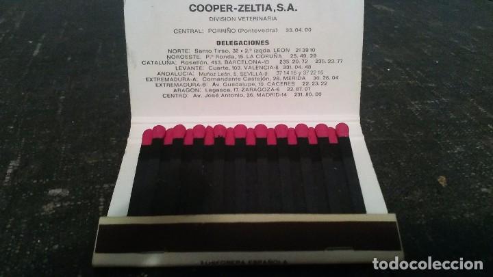Cajas de Cerillas: Como nueva 40 Fósforos . Caja de cerillas medicamento NILZAN - Foto 2 - 104103567
