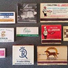 Cajas de Cerillas: LOTE CAJAS DE CERILLAS. Lote 104768951