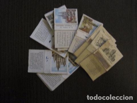 LOTE CAJA DE CERILLAS EDIFICIOS -VER FOTOS- (CR-1049) (Coleccionismo - Objetos para Fumar - Cajas de Cerillas)