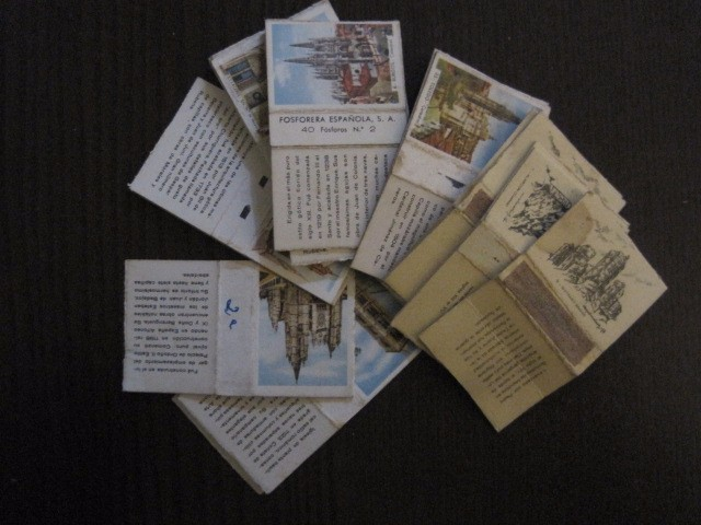 Cajas de Cerillas: LOTE CAJA DE CERILLAS EDIFICIOS -VER FOTOS- (CR-1049) - Foto 3 - 104888279