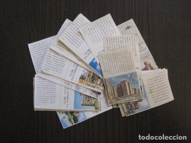LOTE CROMOS DE CERILLAS PAPEL- EDIFICIOS -VER FOTOS- (CR-1045) (Coleccionismo - Objetos para Fumar - Cajas de Cerillas)