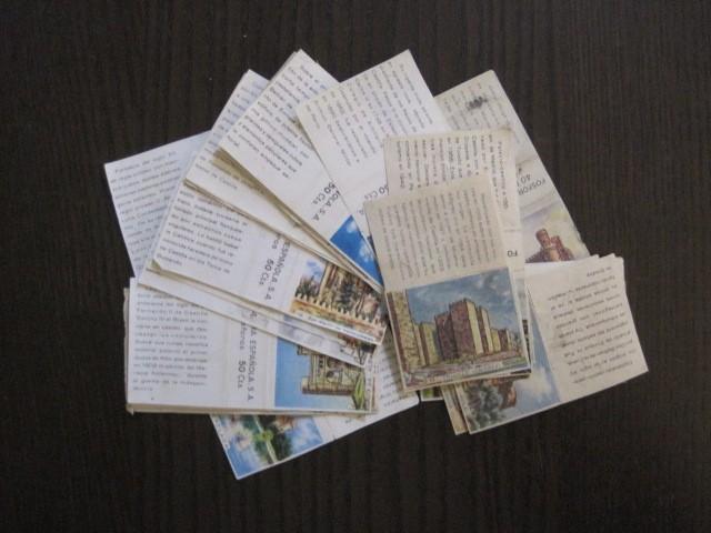 Cajas de Cerillas: LOTE CROMOS DE CERILLAS PAPEL- EDIFICIOS -VER FOTOS- (CR-1045) - Foto 2 - 104888479