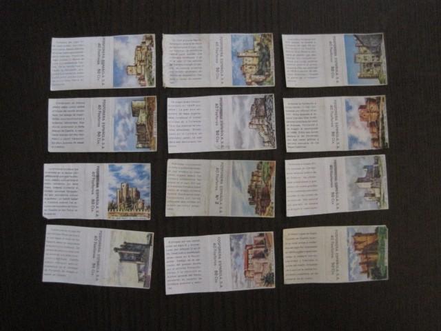 Cajas de Cerillas: LOTE CROMOS DE CERILLAS PAPEL- EDIFICIOS -VER FOTOS- (CR-1045) - Foto 9 - 104888479