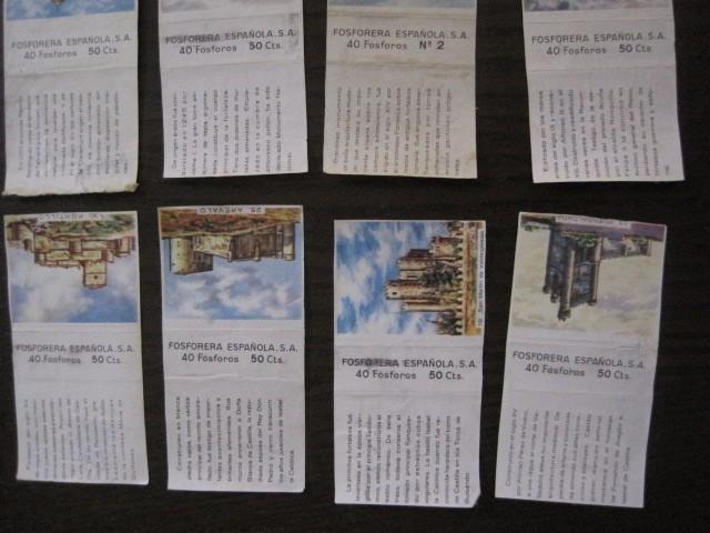 Cajas de Cerillas: LOTE CROMOS DE CERILLAS PAPEL- EDIFICIOS -VER FOTOS- (CR-1045) - Foto 10 - 104888479