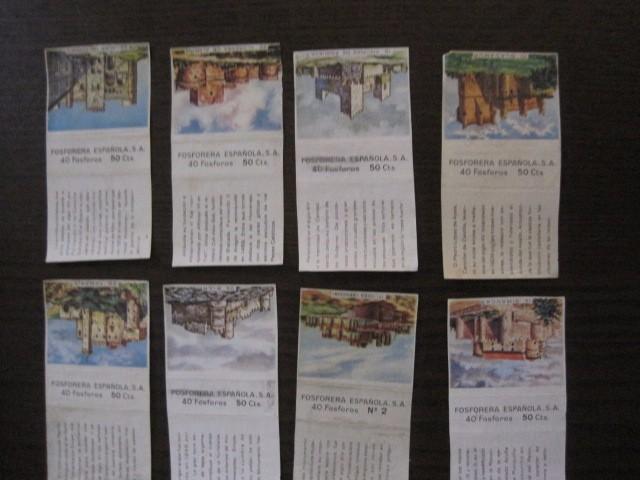 Cajas de Cerillas: LOTE CROMOS DE CERILLAS PAPEL- EDIFICIOS -VER FOTOS- (CR-1045) - Foto 11 - 104888479