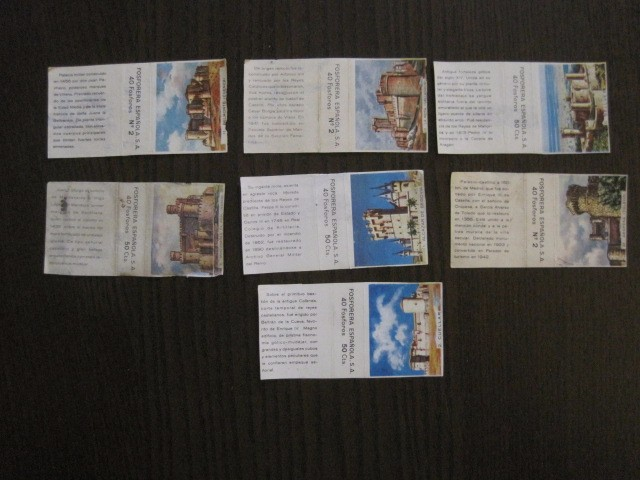 Cajas de Cerillas: LOTE CROMOS DE CERILLAS PAPEL- EDIFICIOS -VER FOTOS- (CR-1045) - Foto 12 - 104888479