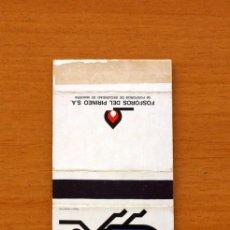 Cajas de Cerillas: CAJA DE CERILLAS - SERIE ABECEDARIO ANIMAL - X, XILÓFAGO - FÓSFOROS DEL PIRINEO S.A. AÑOS 70. Lote 106936086