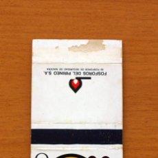 Cajas de Cerillas: CAJA DE CERILLAS - SERIE ABECEDARIO ANIMAL - O, OSO - FÓSFOROS DEL PIRINEO S.A. AÑOS 70. Lote 106936491
