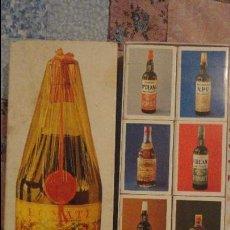 Cajas de Cerillas: ANTIGUO CONJUNTO DE 8 CAJAS DE CERILLAS PUBLICITARIAS.SANCHEZ ROMATE HERMANOS.JEREZ DE LA FRONTERA.. Lote 107285695