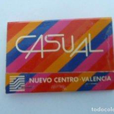 Cajas de Cerillas: NUEVO CENTRO VALENCIA CAJA DE CERILLAS CARTERITA . Lote 107422319
