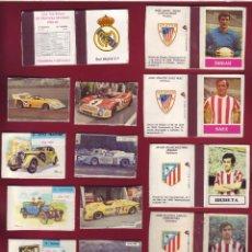Cajas de Cerillas: COLECCIÓN DE 34 CAJAS DE CERILLAS,FUTBOL COCHES JARRONES, FOSFORERA ESPAÑOLA.. Lote 107422467