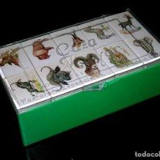 Cajas de Cerillas: CAZA MAYOR, COLECCIÓN COMPLETA 40 CAJAS CERILLAS CON ESTUCHE, FOSFORERA ESPAÑOLA, ORIGINAL AÑOS 60.. Lote 107781247
