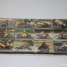 Cajas de Cerillas: ANTIGUAS CAJAS DE CERILLAS DE LA SERIE MOTOS DE COMPETICIÓN - COLECCIÓN COMPLETA - CAJAS LLENAS. Lote 108717903
