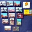 Cajas de Cerillas: LOTE 14 CAJA CAJAS CERILLAS FOSFOROS DEL PIRINEO SERIE ISLAS CANARIAS MAS 2 CAJAS DE PUBLICIDAD. Lote 108808147