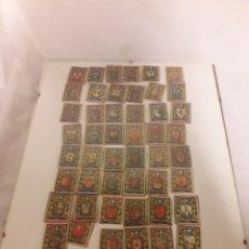 Cajas de Cerillas: FOSFOROS DE PAPEL 50 ESCUDOS ENMARCADOS ORIGINALES.. Lote 108813556