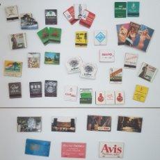 Cajas de Cerillas: LOTE 44 CAJAS CERILLAS ANTIGUAS AÑOS 70. Lote 109062111