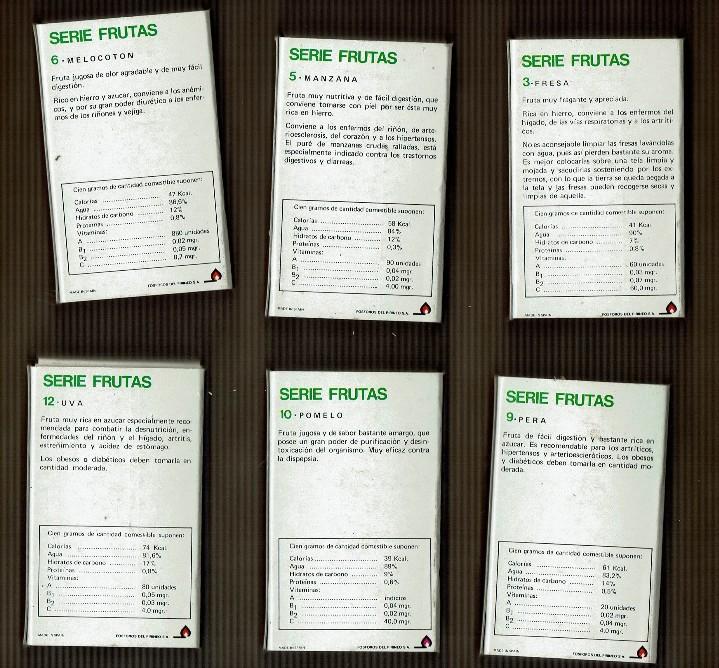 Cajas de Cerillas: Cajas cerillas serie frutas - Foto 2 - 109110027
