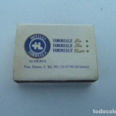 Cajas de Cerillas: CAJA DE CERILLAS HOTELES TORRELUZ (ALMERIA). Lote 109313967