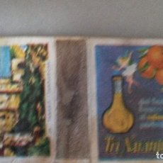 Cajas de Cerillas: CAJA DE CERILLAS CASTILLO TAMARIT TARRAGONA. PUBLICIDAD TRINARANJUS. Lote 110355479