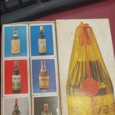 Cajas de Cerillas: ANTIGUO CONJUNTO DE 8 CAJAS CERILLAS COMPLETAS PUBLICIDAD SÁNCHEZ ROMATE . Lote 110623487