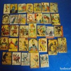 Cajas de Cerillas: (PA-180151)LOTE DE 33 CAJAS DE CERILLAS - SIGLO XIX. Lote 110651427