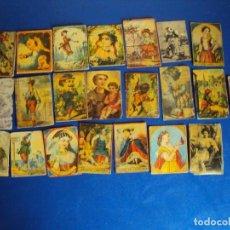 Cajas de Cerillas: (PA-180152)LOTE DE 22 CAJAS DE CERILLAS - SIGLO XIX. Lote 110651543