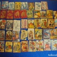 Cajas de Cerillas: (PA-180153)LOTE DE 52 CAJAS DE CERILLAS - SIGLO XIX. Lote 110651663