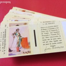 Cajas de Cerillas: TAUROMAQUIA 40 FOSFOROS LABOR Nº 3 MADE IN SPAIN . 30 ELE. COMPLETA. FOSFORERA ESPAÑOLA.1959. Lote 110797059