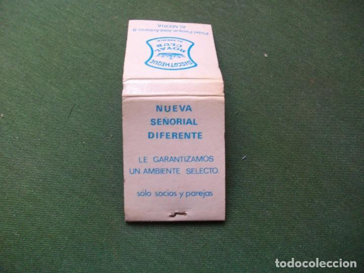 Cajas de Cerillas: ANTIGUA CAJA DE CERILLAS -DISCOTECA ROYAL CLUB -LA DE LA FOTO VER TODOS MIS LOTES DE CERILLAS - Foto 3 - 111401919