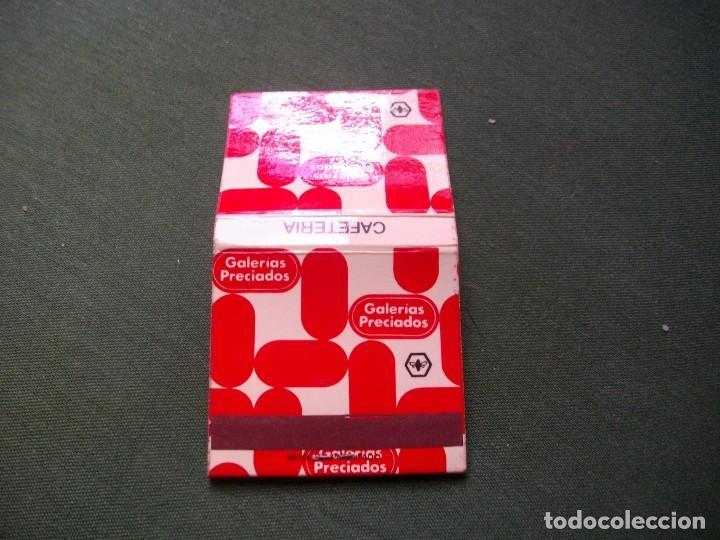 Cajas de Cerillas: ANTIGUA CAJA DE CERILLAS -GALERIAS PRECIADOS -LA DE LA FOTO VER TODOS MIS LOTES DE CERILLAS - Foto 3 - 111403371