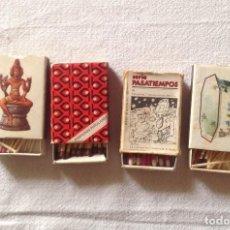 Cajas de Cerillas: CAJAS ANTIGUAS DE CERILLA. Lote 112244115
