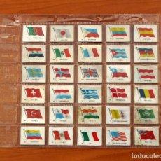 Cajas de Cerillas: BANDERAS Y MONUMENTOS - COLECCIÓN COMPLETA 30 CAJAS DE CERILLAS, FOSFORERA ESPAÑOLA 1961. Lote 113042259